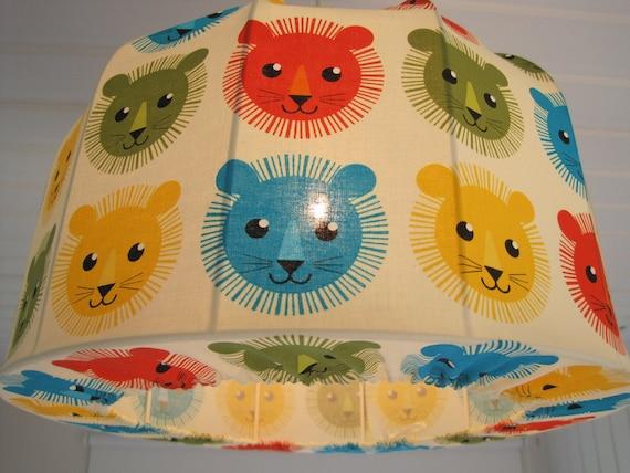Lampshade, Pendant light, retro Lions, very nice
