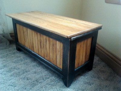How to Make a Toy Box Bench How to Make a Toy Box Bench