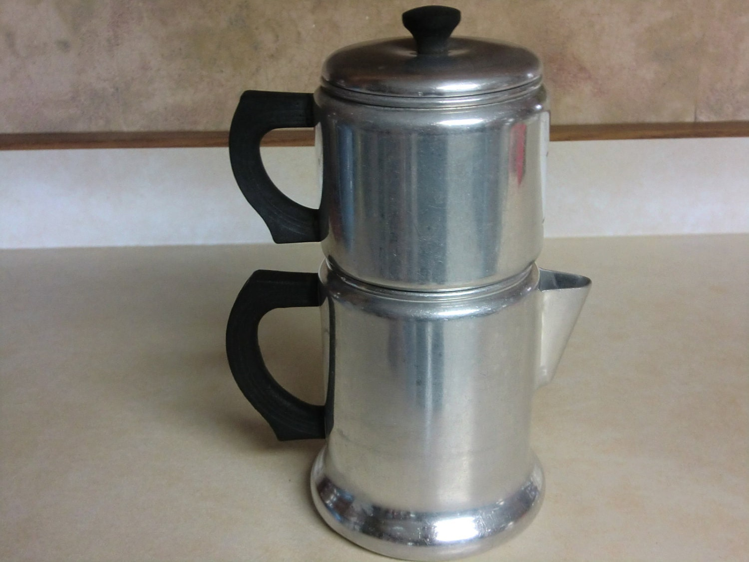 Drip Coffee Maker Hot Water : Vintage West Bend Drip Coffee Marker by granskitchen on Etsy