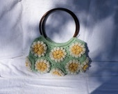 Water Lillies Crochet Purse 20% off