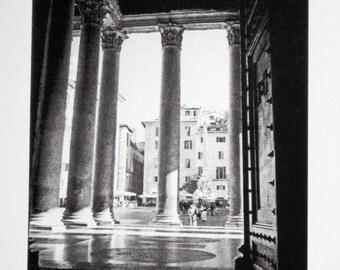 Rome : Pantheon - limited edition screenprint