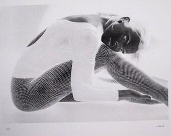 Ballet Dancer - limited edition screenprint