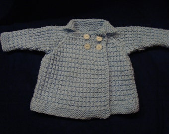 Double-Breasted Baby Coat