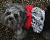 Fancy Prim&Proper Dog Dress//Coat//Harness - Made to Order - RUSH