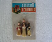 Miniature Nativity, Nativity Kings, Panorama Ornament