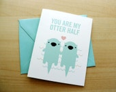 Otter Half Card