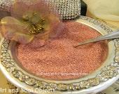 German Glass Glitter Pink Swirl  90 Grit- Great Sparkle 100% Pure