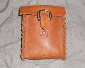 Warrior Poet Workshop Leather Archery Belt Pouch