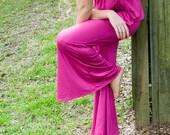 Pyjamas  Pink  PJ Set in Stretch Jersey Size Small