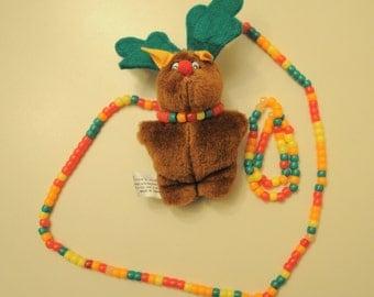 Christmas Moose Kandi Bracelet