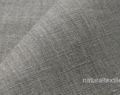 """100% Linen Fabric European Flax - Natural Gray - 59"""" Width"""