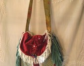 Gypsy Wine and Torquoise Carpetbag