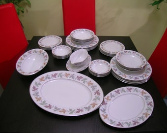 Mid Century Sango Fine China Setting for 8 Lots of Extras.