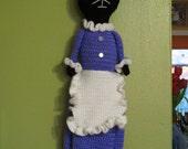 Kitty Cat Bag Holder