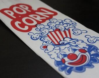 NEW 50 Clown Popcorn Paper Bags