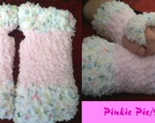 Pinkie Pie Surprise - My Little Pony crocheted armwarmers