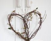 Natural Heart Wreath TWIG