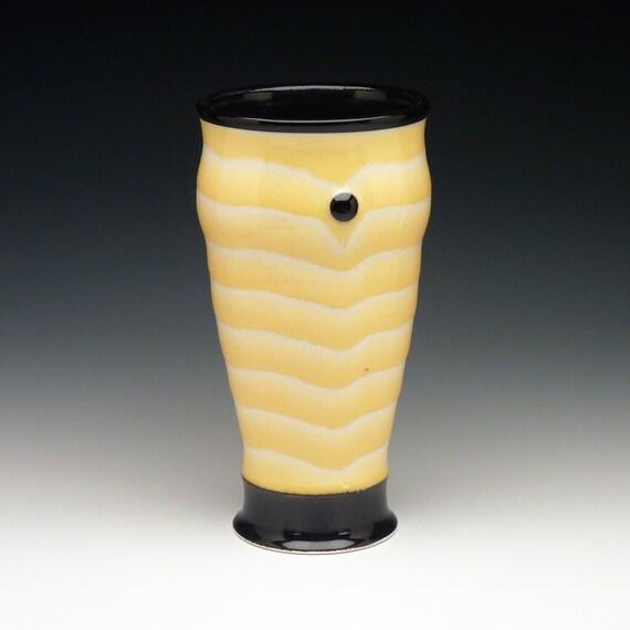 handmade ceramic pint glass