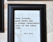 Coffee Stained Type Writer Print - 5x7 Print, Quote Art- Ready to Ship
