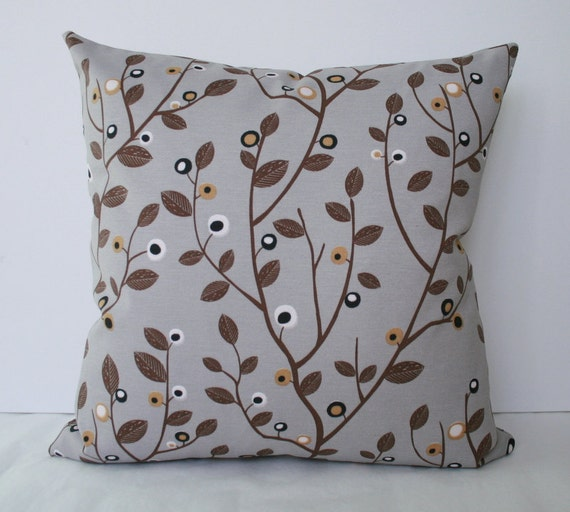 Trees decorative throw pillow cover, accent pillow case, cushion cover, toss pillow -  20 x 20 inches