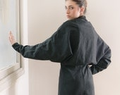 Women Jacket black Blazer , Women Cardigan