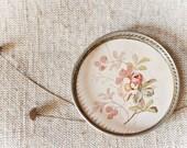 Botanical Vintage Ashtray - Dogrose Vintage Ashtray -Collectibles