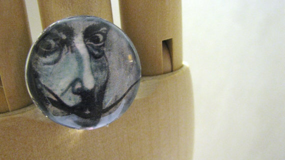Salvador Dali Ring featuring art from Angel Laveaux