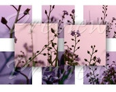 1x1 Square Digital Collage Sheet 1