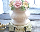Rose Bud Boudoir Lamp small Victorian Style Paris Chic