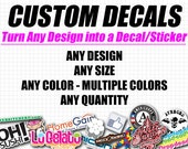 Custom Decals - Custom Stickers
