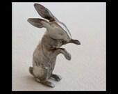 Miniature Tin Rabbit