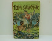 Antique Tom Sawyer Childrens Book