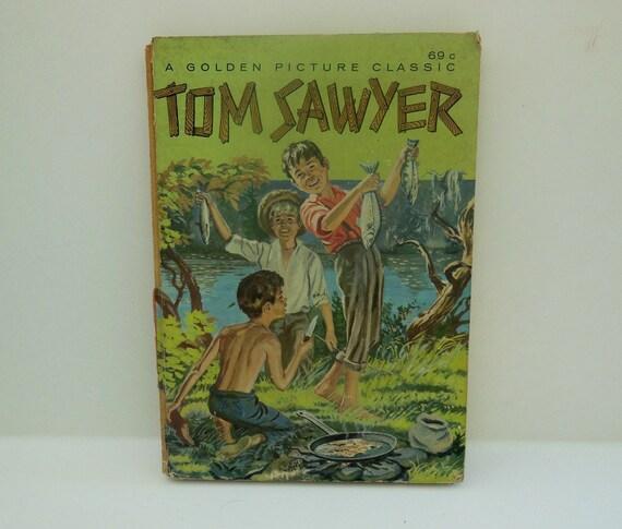 Antique Tom Sawyer Childrens Book