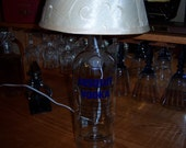 Absolut Vodka Lamp: Made from upcycled Absolut vodka bottle