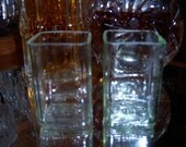 Jack Daniels Rocks Glasses - Set of 2 (made from upcycled Jack Daniels bottles)