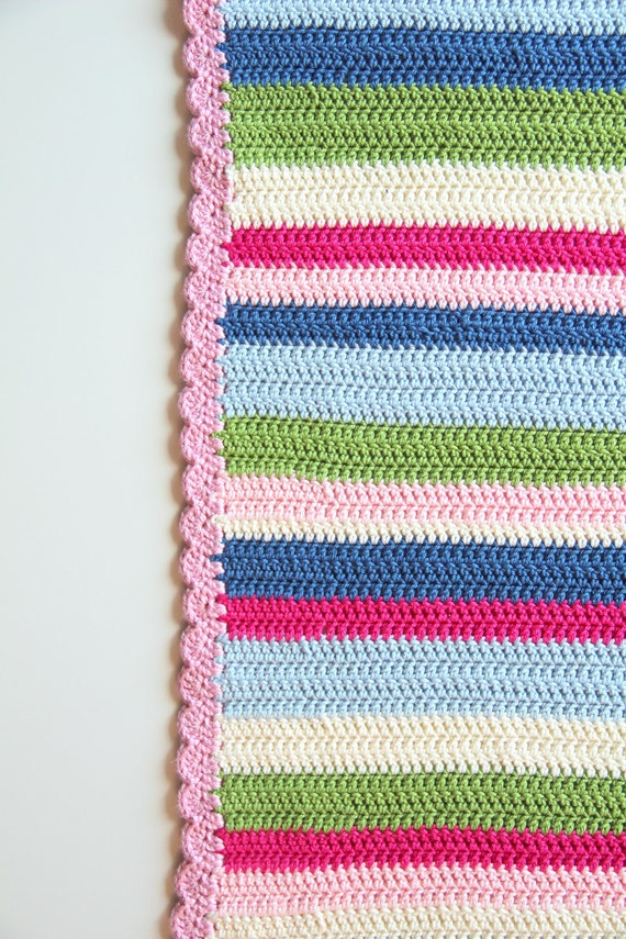 Crochet Patterns Etsy : Crochet pattern newborn baby blanket by creJJtion on Etsy