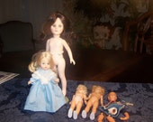 Vintage Vinyl Plastic Doll Lot of 5, Effanbee and Storybook type.....