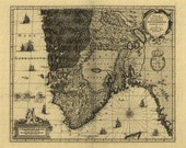 Map Of Norway From The 1500s Norway Bergen Norwegian Scandinavia Scandinavian Lapland Sami Cartography Adventure Travel 045