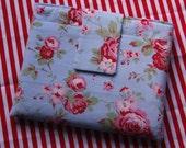 Cath Kidston Rosali Blue Rose iPad Case, Cover, Sleeve