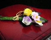 Miniature Dollhouse Bouquet of Flowers