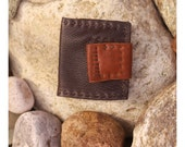 Bifold Wallet Leather. Billfold Leather Wallet. Leather Accessories.