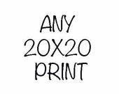 20x20 PRINT