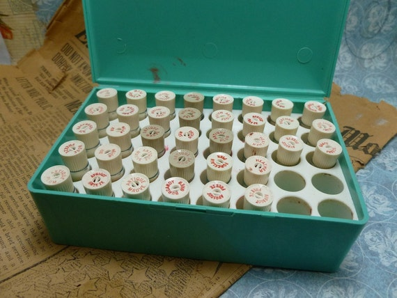 Really Cool Vintage Avon Sample Box with Lipstick Samples