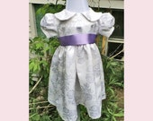 Sweet Roses Infant Christening Gown 0-3 months