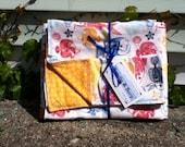 Fabulous Fish Blanket and Burp Cloth Gift Set