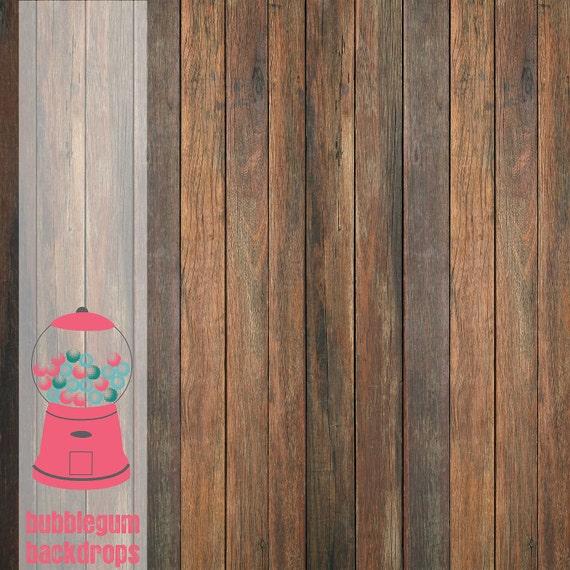 "Thin Grunge-Wood - 60"" x 60"" -Vinyl Photography Backdrop Prop"