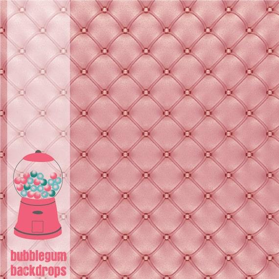 "Pink Cushion 12""x12""  - Vinyl Photography Backdrop Photo Prop"