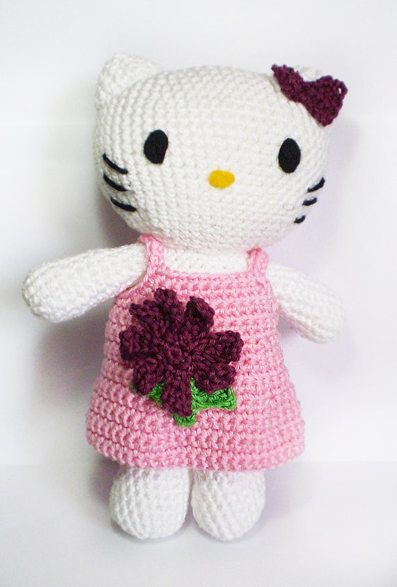 Amigurumi Hello kitty doll super cute and detailed all