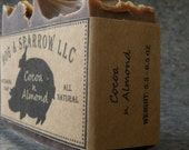 Cocoa and Almond - All Natural, Handmade, Artisanal Soap