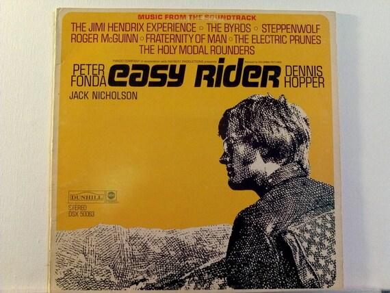 Vintage 1970 S Easy Rider Vinyl Record Album Lp Dennis